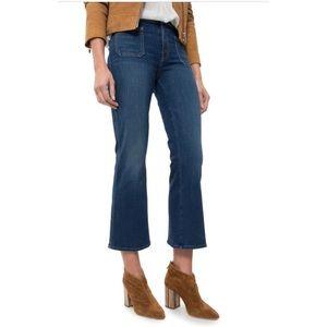 Mother Patch Slacker Crop Jeans